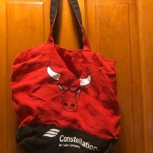 Chicago bulls shopping bag